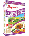 Bagrry's Crunchy Muesli Fruit & Nut With Cranberries