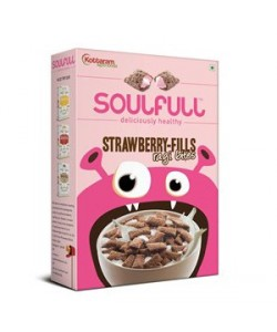 Soulfull Strawberry Fills Ragi Bites