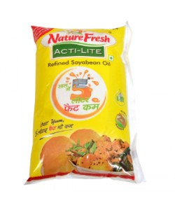 Nature Fresh Acti Lite Soyabean  Refined Oil