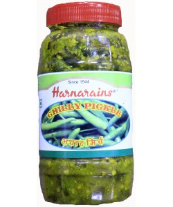 Harnarain's Green Chilly Pickle