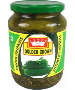 Golden Crown Gherkins