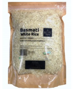 Nature Organic Basmati White Rice